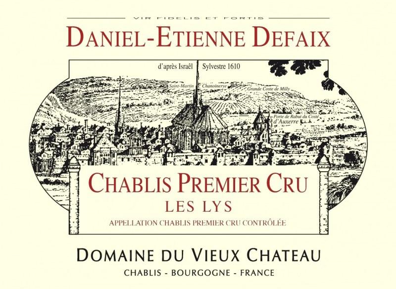 Chablis 1er Cru Les Lys 2006 - Caisse de 6 bouteilles
