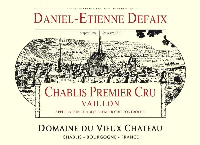 Chablis 1er Cru Vaillon 2005 - Caisse de 6 bouteilles