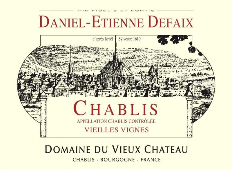 Chablis Vieilles Vignes 2018 - Caisse de 6 bouteilles
