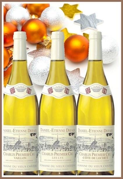 Collection Daniel-Etienne DEFAIX - 12 bouteilles