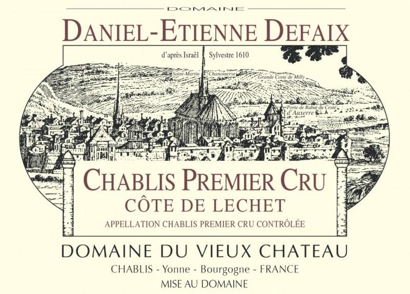 Chablis 1er Cru Côte de Léchet 2005 - Caisse de 12 demi-bouteilles