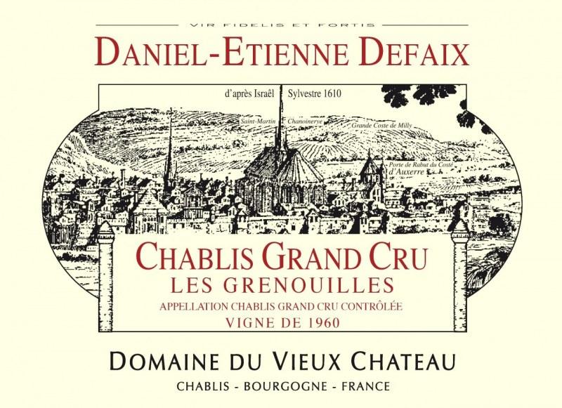 Chablis Grand Cru Grenouilles 2009 - Caisse de 6 bouteilles