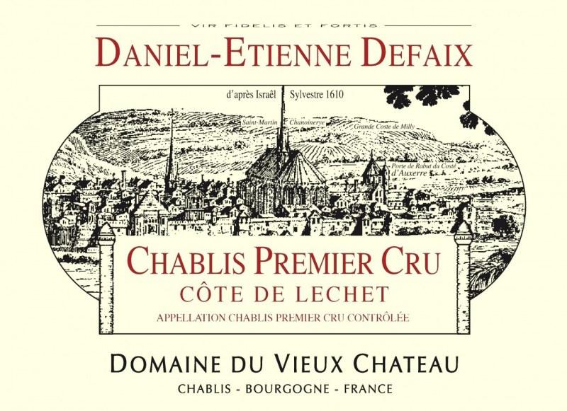 Chablis 1er Cru Côte de Léchet 2006 - Caisse de 6 bouteilles