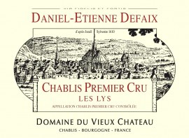Chablis 1er Cru Les Lys 2005 - Caisse 12 demi-bouteilles