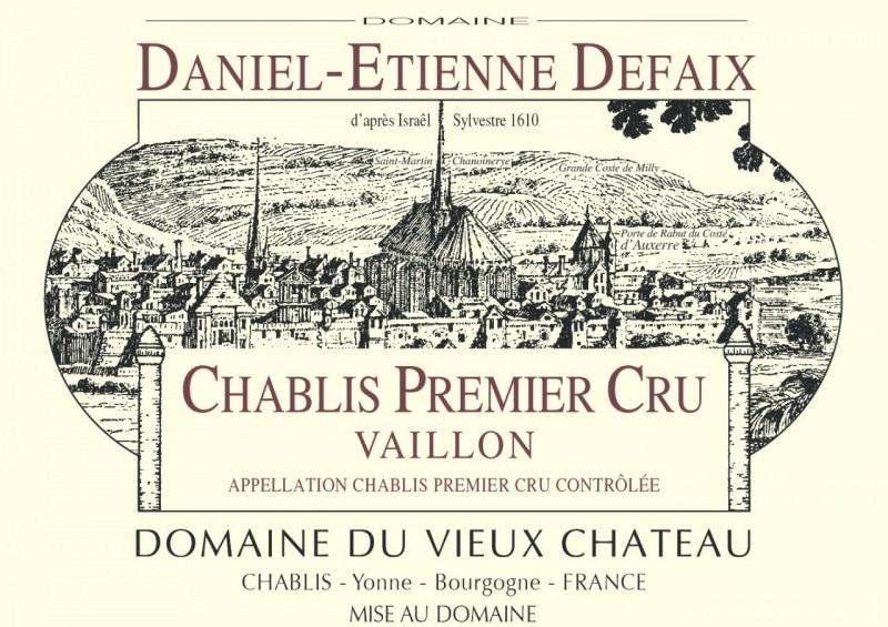 Chablis 1er Cru Vaillon 2005 - Caisse de 12 demi-bouteilles
